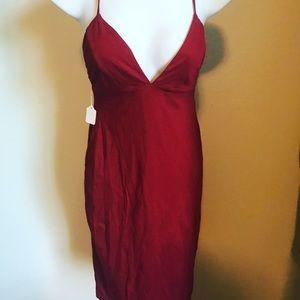 Solemio Women's Red Dress Size SM